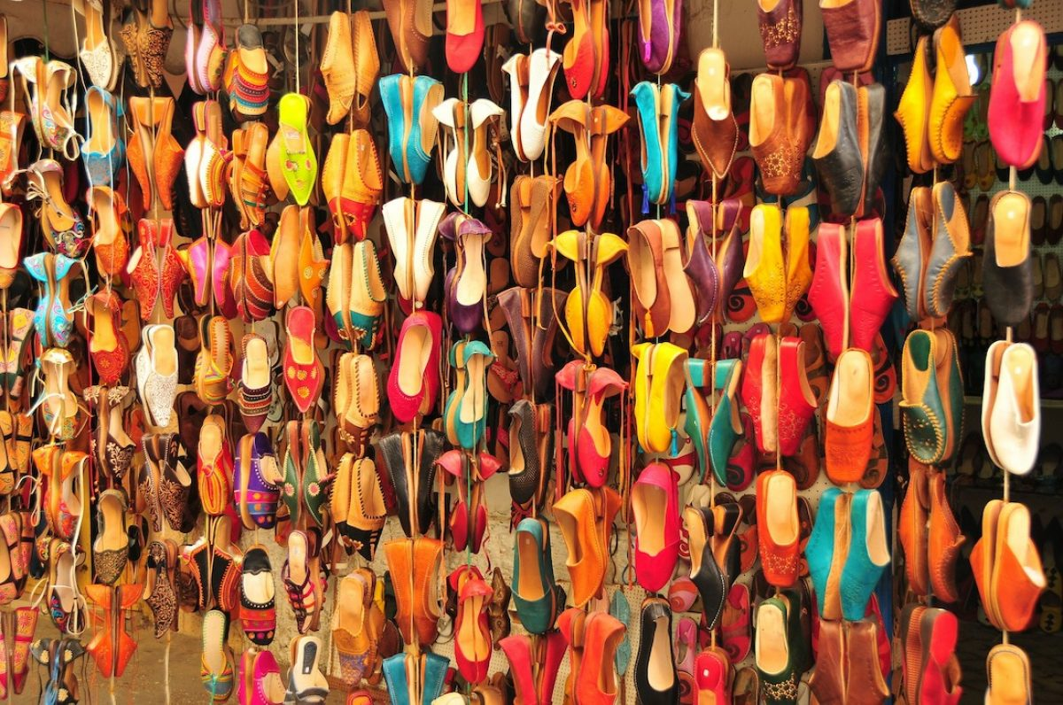 De compras por Ouarzazate