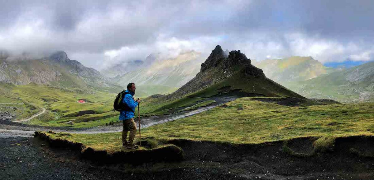 La pista del Cable a los refugios de Áliva (Picos de Europa)