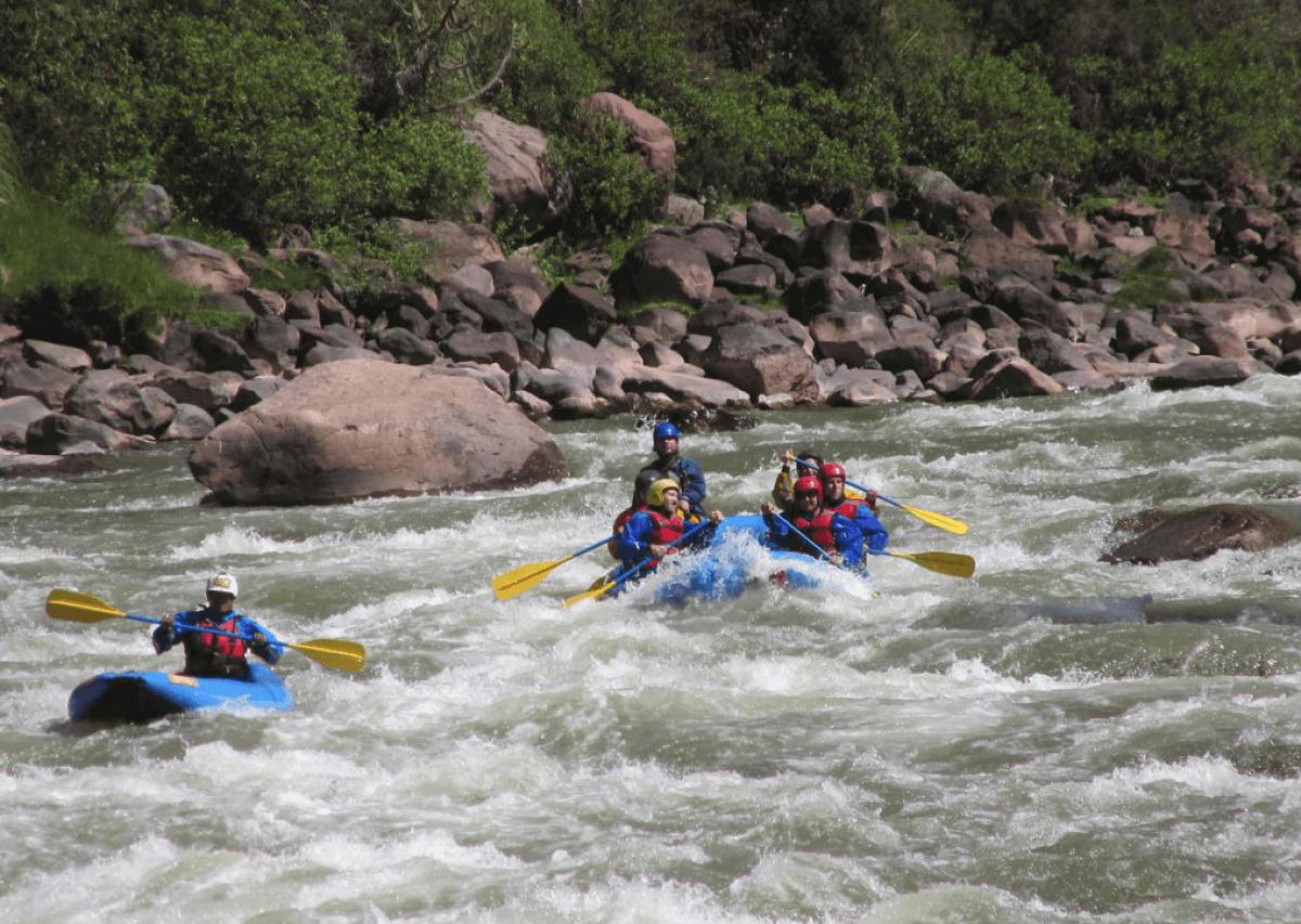 Rafting en el Urubamba