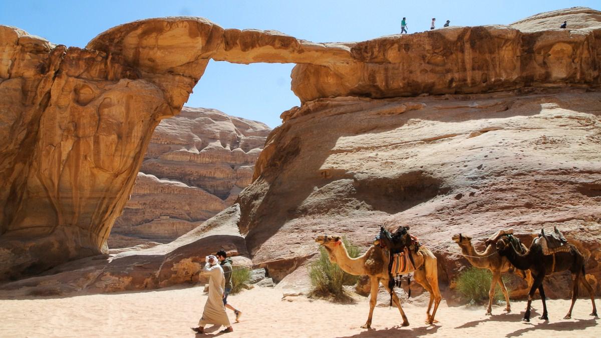 Senderismo en el Wadi Rum