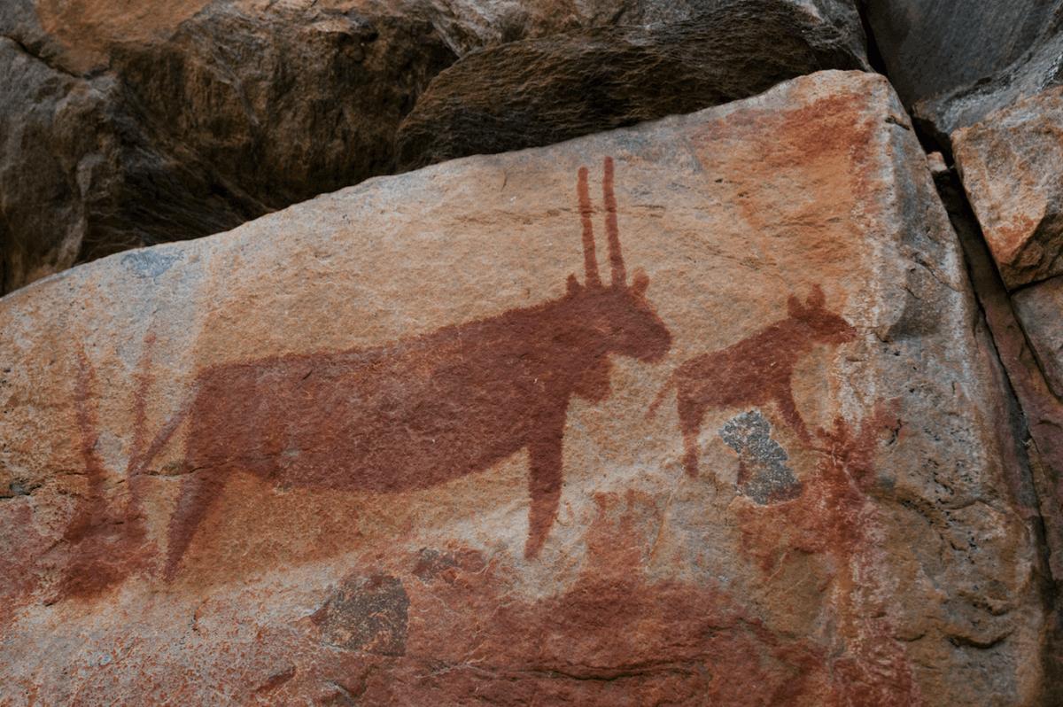 Pinturas rupestres de Tsodilo