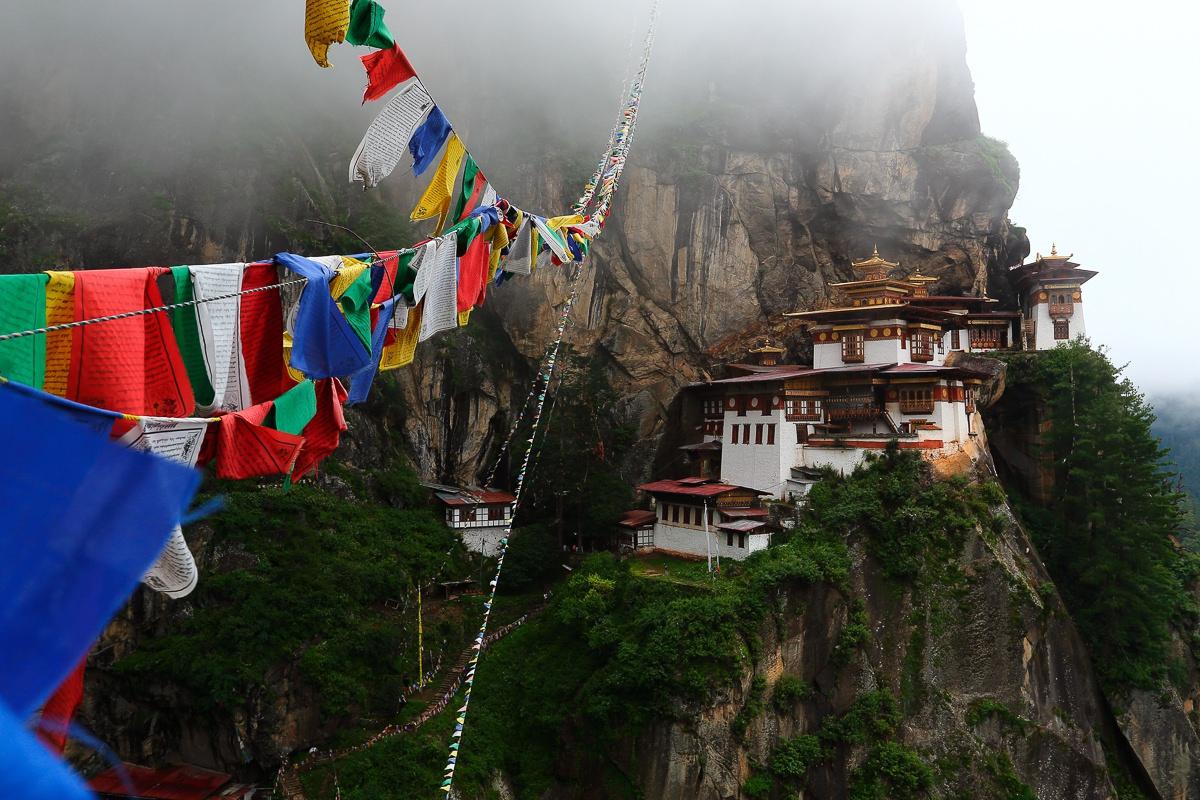 El Nido del Tigre (Bután)