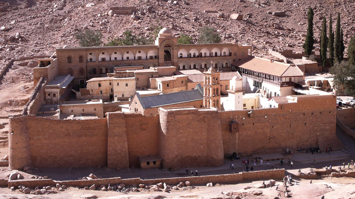 Monasterio de Santa Catalina (Egipto)