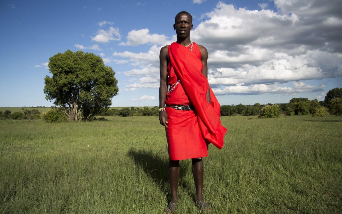 Visitar un poblado masai