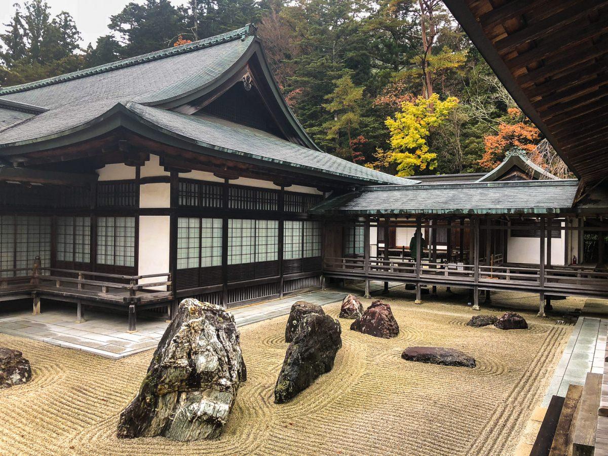 Dormir en un monasterio de Koyasan