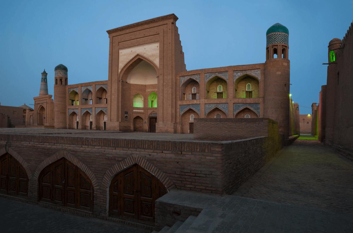 Madrasas Allakuli-khan y Kutlug Murad-inak