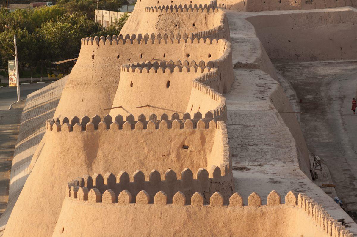 Un paseo por la muralla