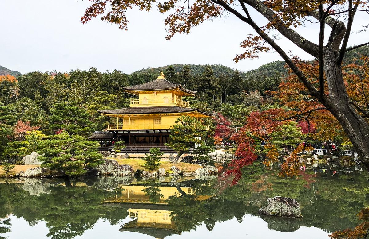 Kinkaku-ji (Pabellón Dorado)
