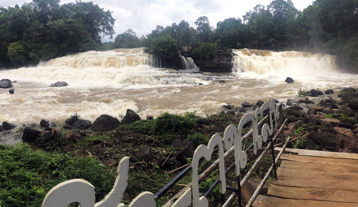 Cataratas Tad Lo y Tad Hang (Laos)