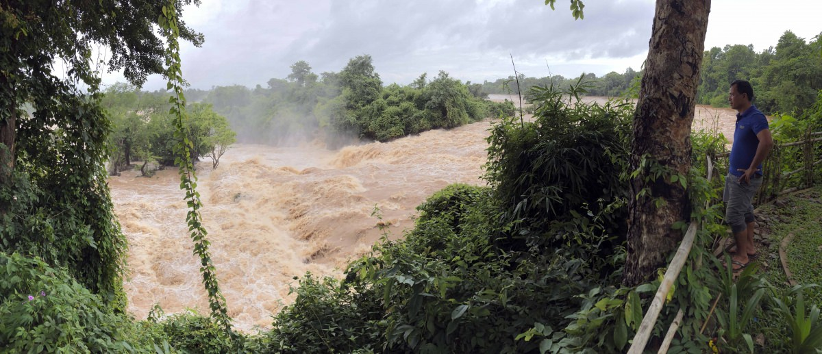 Cataratas Li Phi y Pa Pheng (Laos)