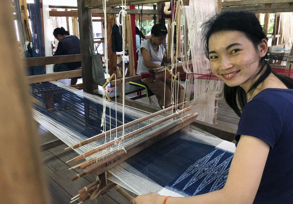 Centro de artes textiles Ock Pop Tok