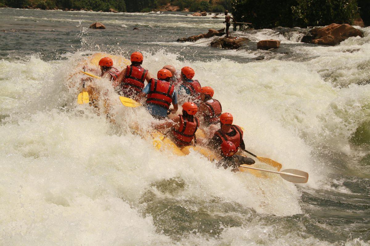 Rafting en el Nilo
