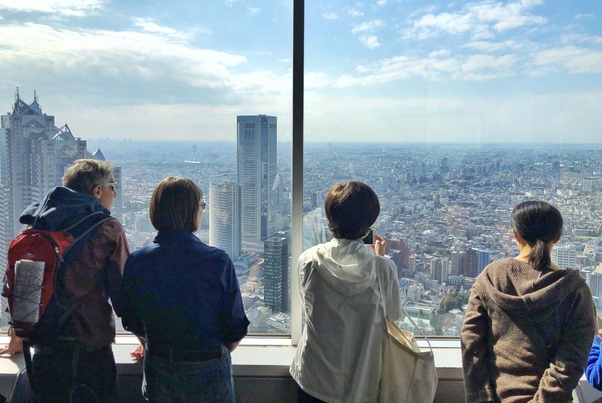 Tokio desde un mirador