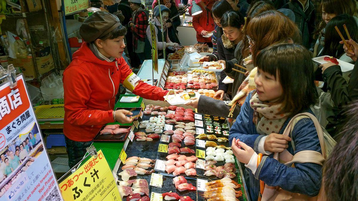 Comer pez globo en Shimonoseki