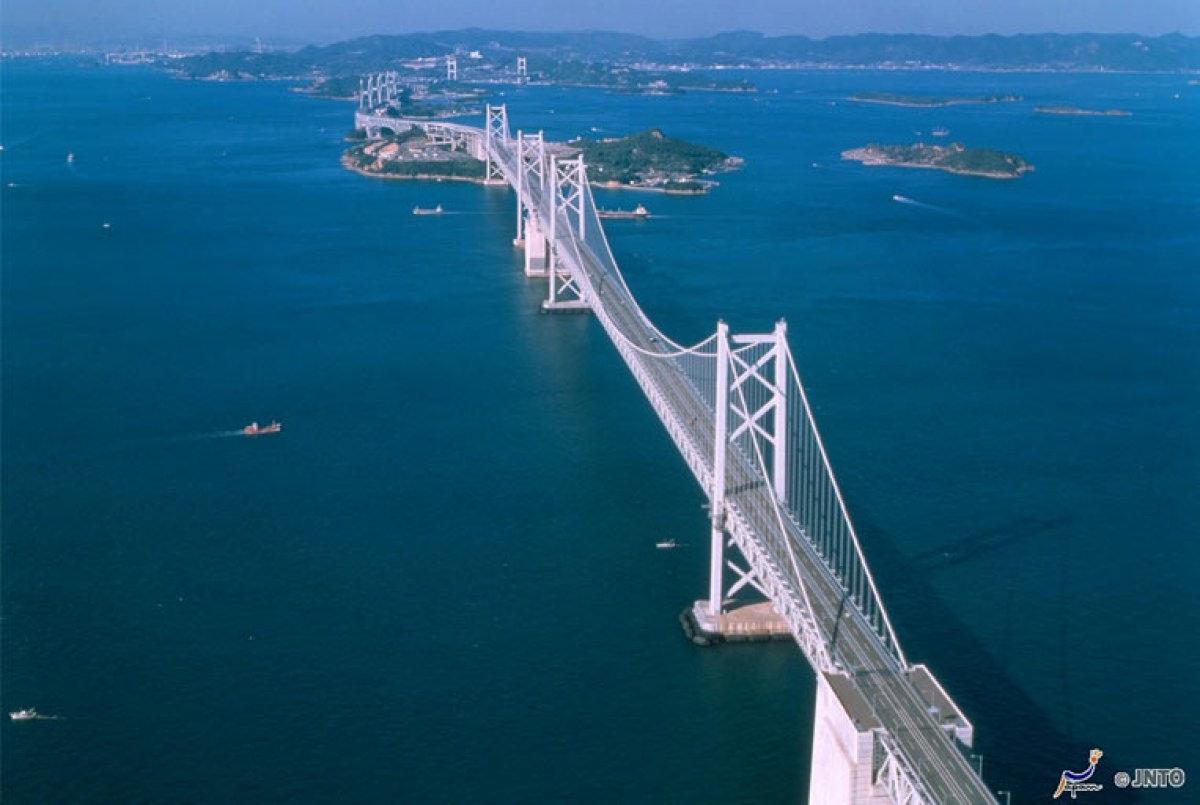 Shimanami Kaido por las islas del mar de Seto