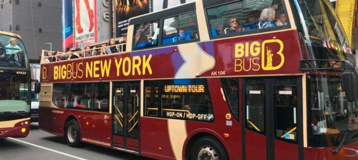 Autobús turístico por Nueva York