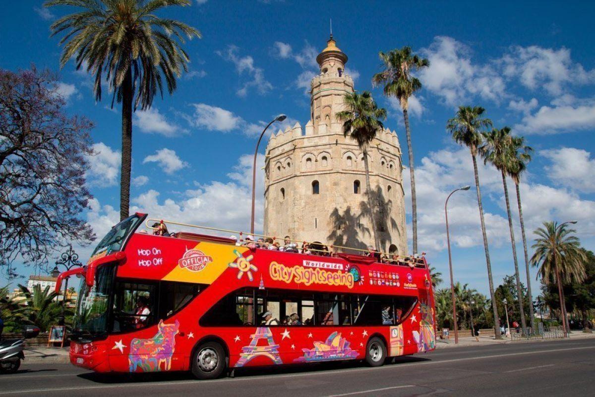 Autobús turístico por Sevilla