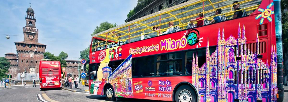 Autobús turístico por Milán