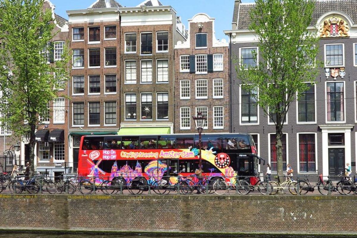 Autobús turístico por Ámsterdam