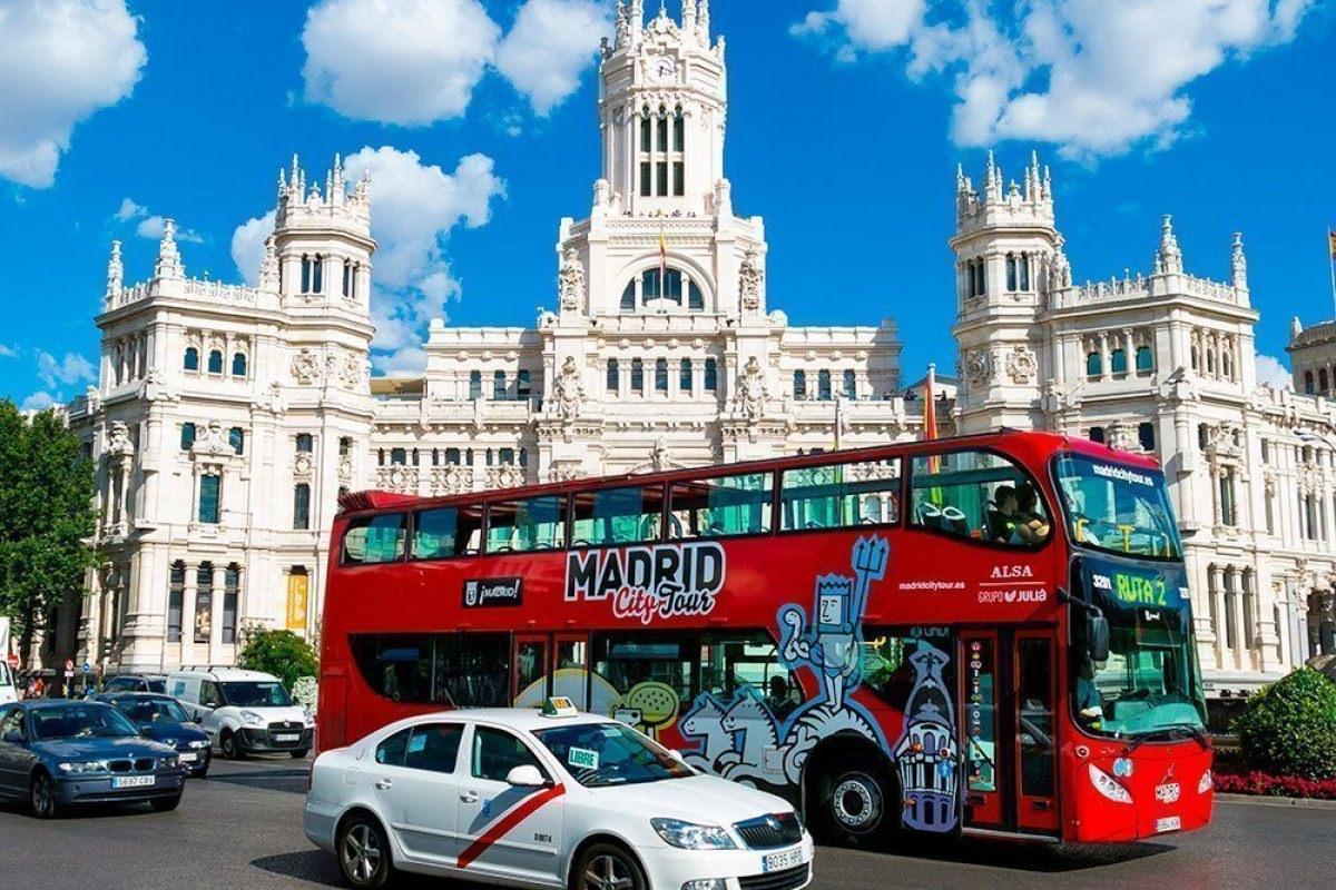 Autobús turístico por Madrid