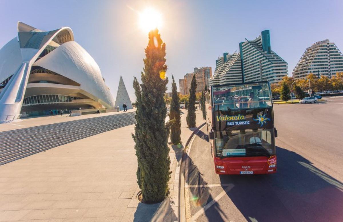 Autobús turístico por Valencia