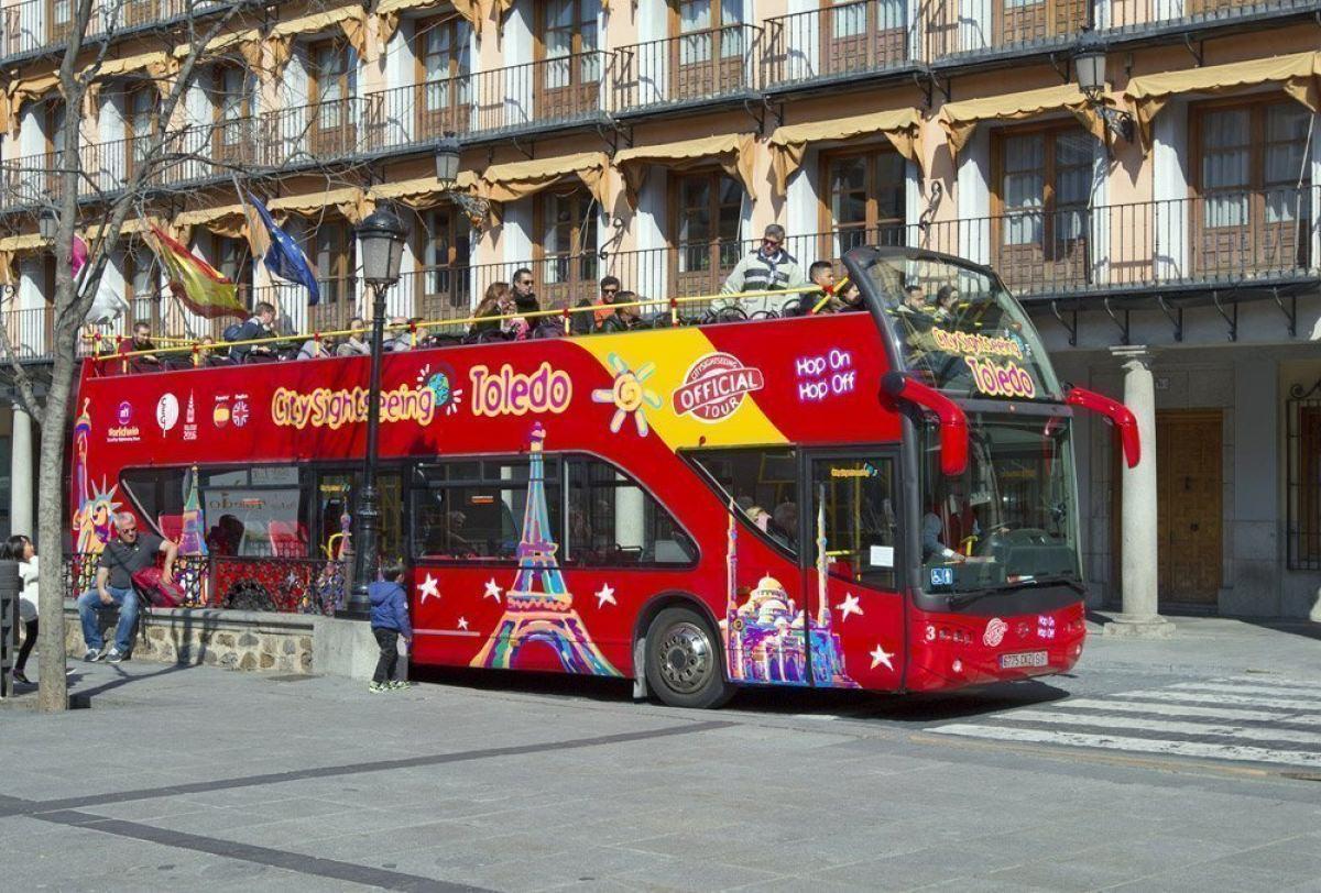 Autobús turístico por Toledo