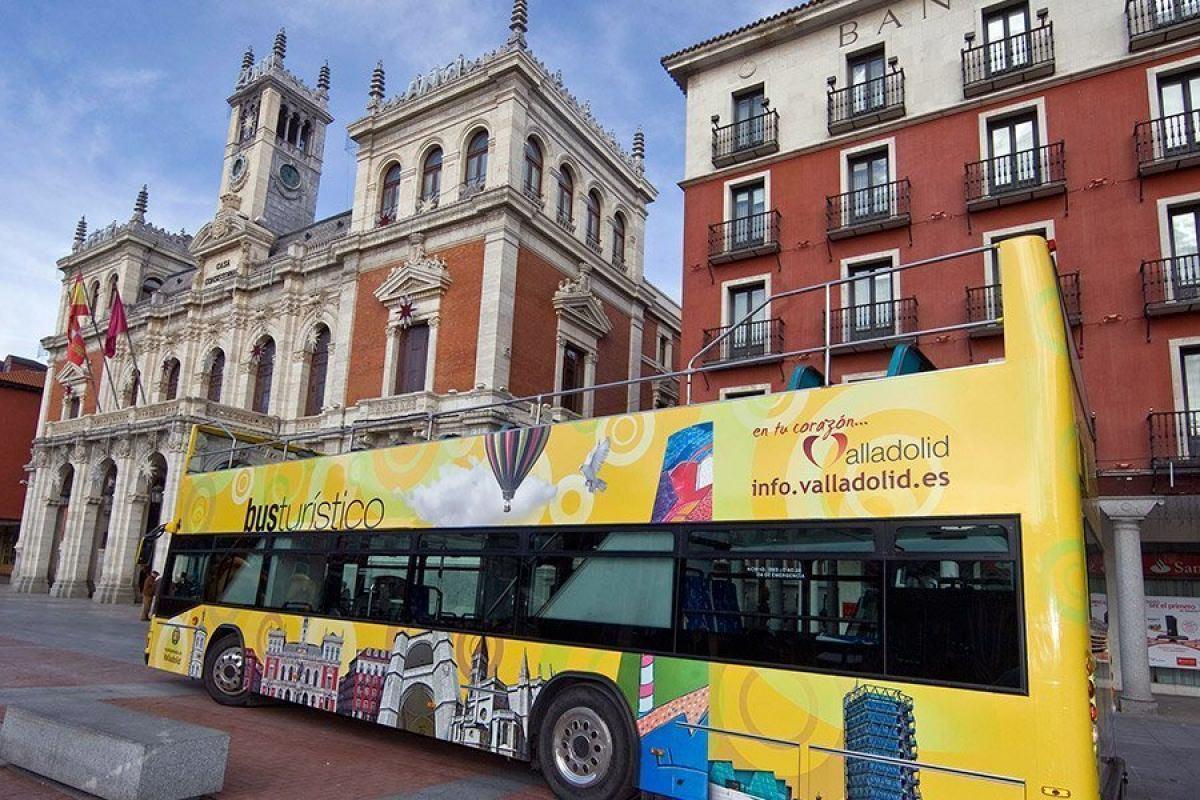 Autobús turístico por Valladolid