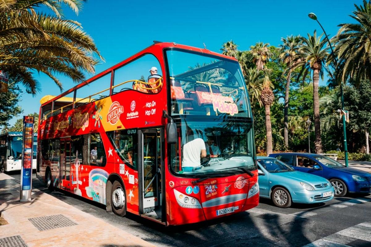 Autobús turístico por Málaga