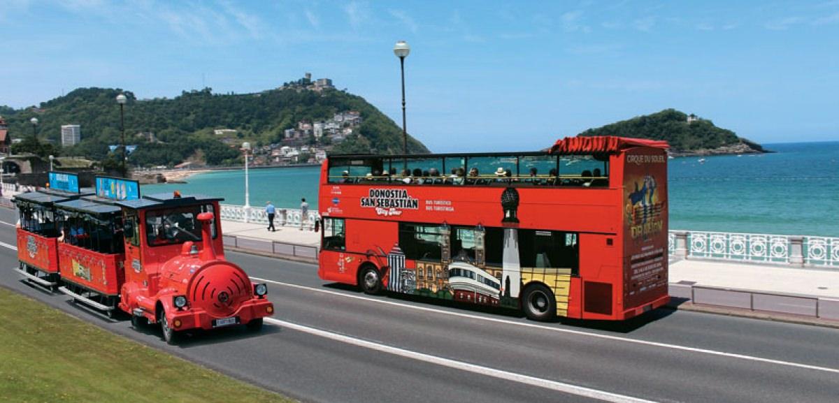 Autobús turístico por San Sebastián