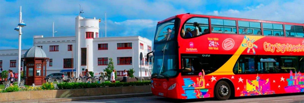 Autobús turístico por Santander