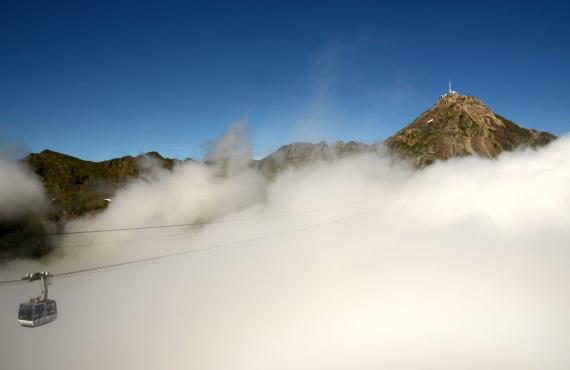 Cómo subir y dormir en el Pic du Midi