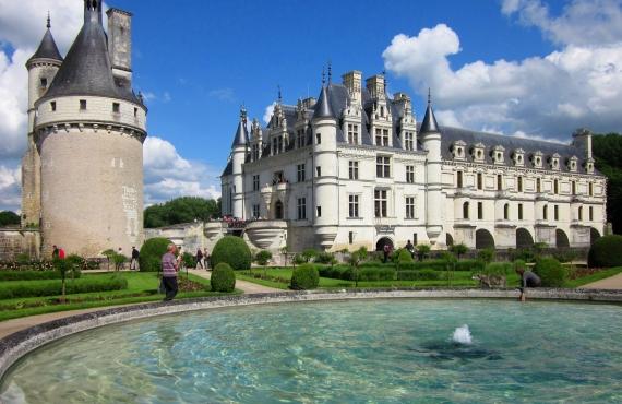 Los castillos del Loira en bicicleta