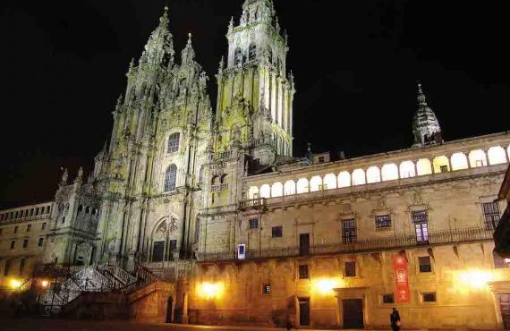 Un día en Santiago de Compostela