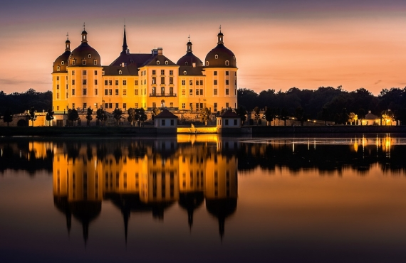 Visita al palacio de Moritzburg desde Dresde