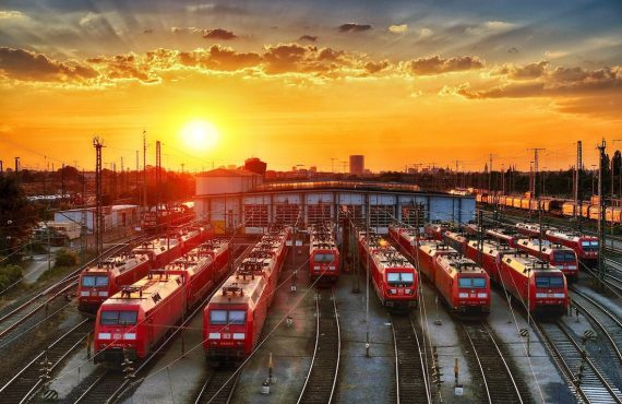 Viajar en tren por Europa con Interrail