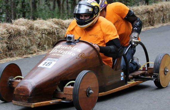 El Gran Prix de Carrilanas en Esteiro, la fiesta más divertida de Galicia