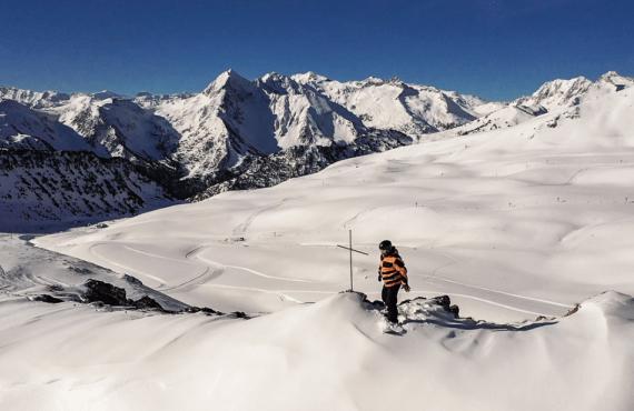 Esquí en los Pirineos franceses