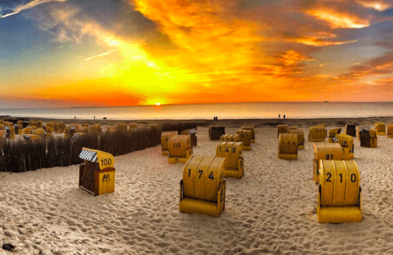 Mar del Norte, la costa más salvaje de Alemania