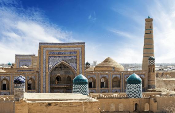 Sitios que ver en Khiva (Uzbekistán)
