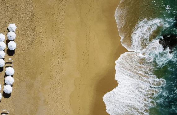 Paisajes increíbles a vista de dron