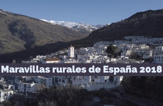 ¡Vota por las 7 Maravillas Rurales de España 2018!