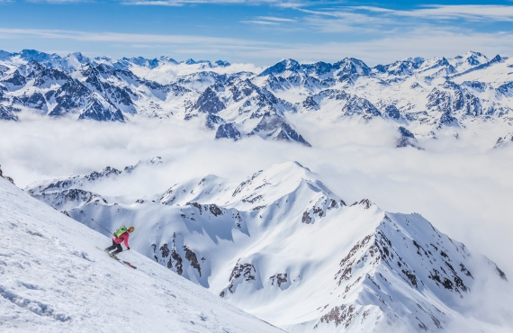 Las siete mejores estaciones de esquí de los Pirineos franceses